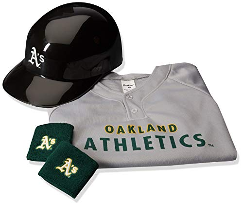 Franklin Sports MLB Oakland Athletics Youth Team Uniform Set