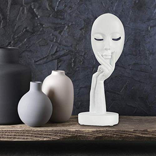 1# AUNMAS Statue di Scultura in Resina Pensatore Intagliato a Mano Scultura Arte Astratta Moderna Figurine da Collezione Espositore per scaffali da Esposizione Home Decor