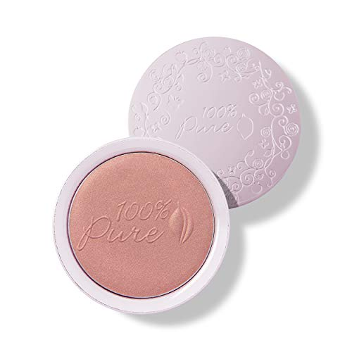 100% PURE Powder Blush (Fruit Pigmented), Healthy, Soft...