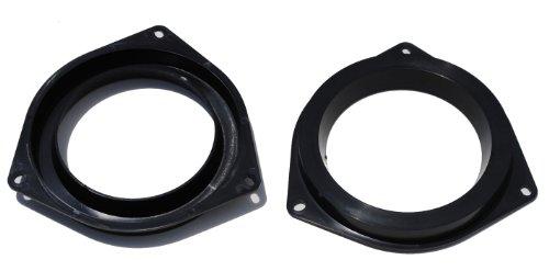 "Mosuch 6.5"" Plastic Black Speaker Adapter. Fitted For Toyota 4Runner, Avalon, Celica, Corolla, Echo, Highlander, Matrix, Prius, RAV, Sequoia, Sienna, Solara, Tacoma, Tundra, Venza, Yaris"