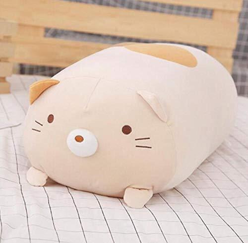 BBSJX Japanische Animation Plüschtier Ecke Bio-Cartoon-Puppe, Tierspielzeug Plüsch Weich, Schlafendes Kawaii-Kissen, Für Kinder 1Stück 90Cm