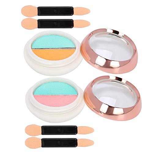 Polvo de uñas fácil de combinar, polvo de brillo de uñas fácil de usar, accesorios de decoración para la tienda del salón en casa