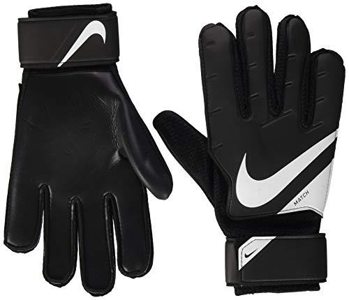 Nike NK GK MATCH-FA20, Guanti da Calcio Unisex – Adulto, Black/White/(White), 11
