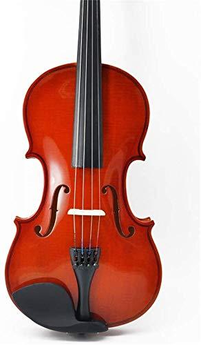 ZYF Violines Light Light Single Tablero Estudiante Práctica de violín Adecuado para Principiantes, Enseñanza, los Estudiantes Usan violín de Madera Maciza 1/4,1/2,3/4,4/4,1/8,1/10,1/16
