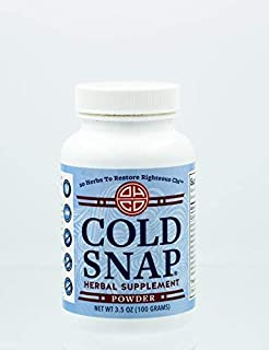Cold Snap by OHCO Oriental Herb Co - Cold, Cold Remedy, Cold Relief, Flu Remedy, Flu Relief, Flu Prevention, Ease Cold Symptoms - All Natural High-Quality Chinese Herbal Remedies 120 Capsules