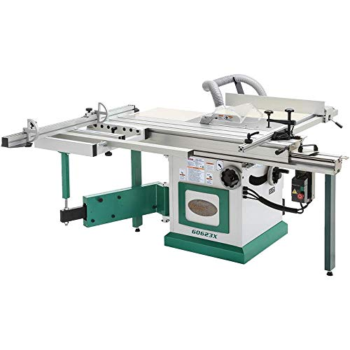 Grizzly Industrial G0623X - 10' 5 HP 230V Sliding Table Saw