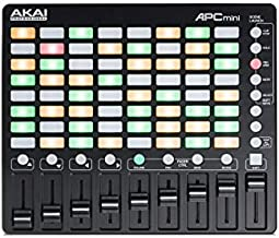 AKAI Professional APC Mini   Portable USB MIDI Controller For Ableton Live With 64-Clip Buttons and MIDI Mixer for Music Production and Performance