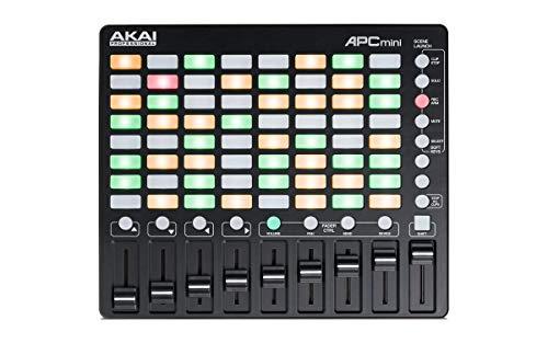 AKAI Professional APC Mini - Kompakter USB Bus Powered 64 Button Clip Launcher für Ableton Live