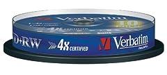 Verbatim 43489 4.7GB 4x Matt
