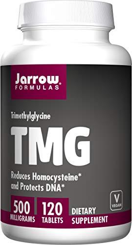 Jarrow Formulas Tmg, 500Mg - 120 Tabs 120 unidades 170 g