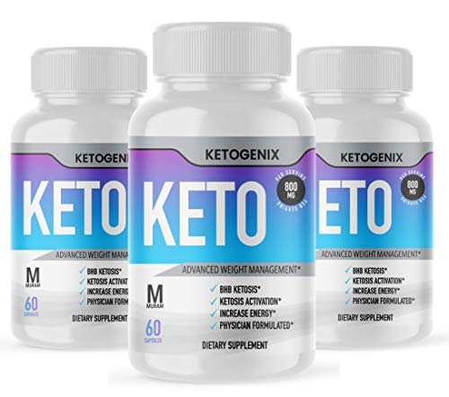 Ketogenix, BHB Ketones, 3 Bottle Package, 90 Day Supply