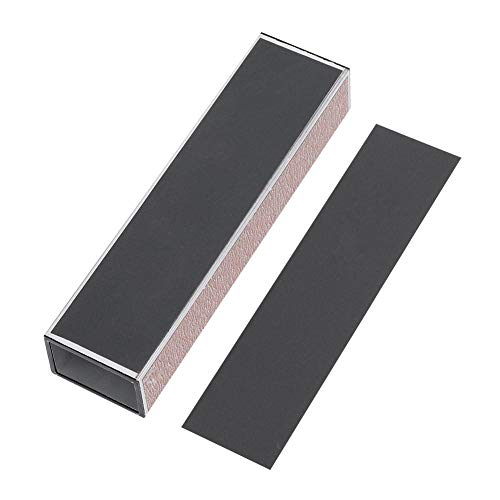 Dilwe polijstblok, slijpen polijstblok papier Luthier gereedschap voor gitaar fret/zadel/moer