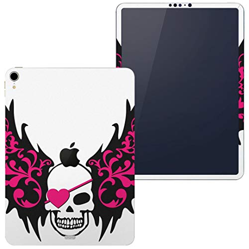 igsticker Skin for Apple iPad Pro 11″ (2018) Ultra Thin Premium Protective Body Stickers (iPad is Not Included) 007629 Skull Skull Feather Pink