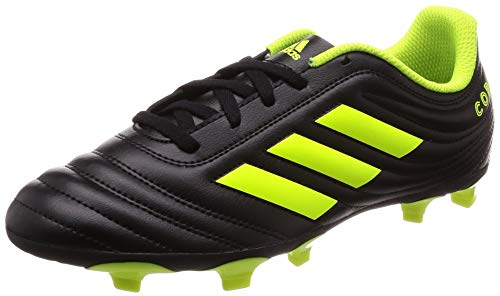 adidas Copa 19.4 Fg J, Scarpe da Calcio Uomo, Nero (Core Black/Solar Yellow/Core Black Core Black/Solar Yellow/Core Black), 38 EU