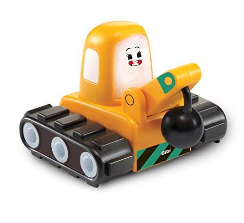 Vtech 80-523604 TUT Bibi Baustelle Babyspielzeug, Babyfahrzeug, Spielzeugauto, Cory Flitzer