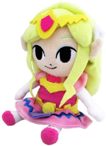 Little Buddy Legend of Zelda Wind Waker Princess Zelda 8' Plush
