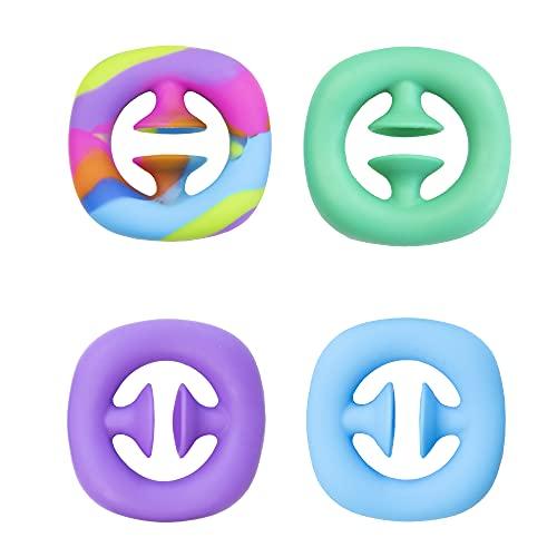 Pop Snappers Sensory Fidget Toy – Juguete de agarre y broche de presión, juguetes sensoriales de mano para fiesta, apretón y presión de ruido para hacer alivio del estrés, juguete antiansiedad Push It