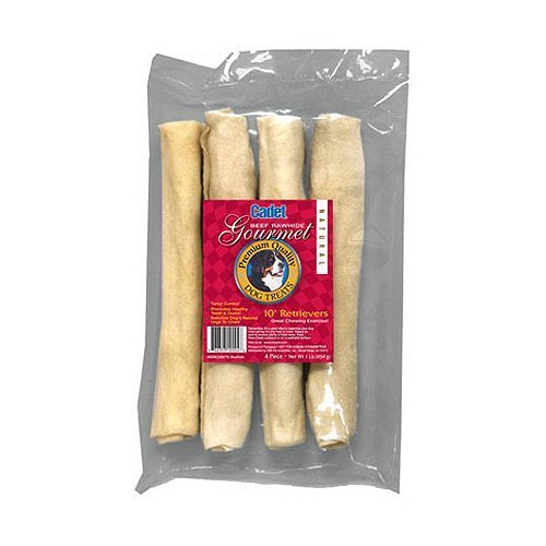 IMS Trading 10004 4-Pack Beef Rawhide Bone for Dogs, 10-Inch by TV Non-Branded Items (Pets) (English Manual)