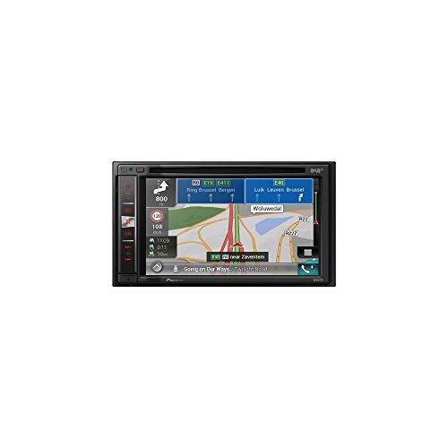 Pioneer Naviceiver AVIC-F980DAB | High Quality Multimedia Autoradio | 6,2 Zoll Doppel Din Radio mit Navi | DAB+ | Bluetooth Freisprechfunktion | RDS-TMC | Touchscreen  | CD DVD Player  | AV  | USB/AUX