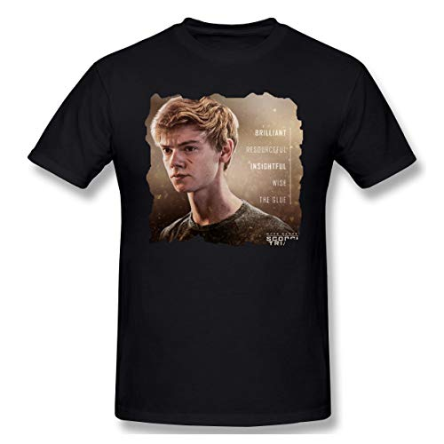 Shawnajjarosz Men The Maze Runner Bilder Newt T Shirts Black M with Men's Short Sleeve
