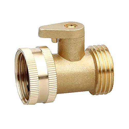 Césped Sprinkler 3/4 pulgadas de latón con interruptor de conexión roscada al jardín pulverizador de grifo de jardín Adaptador de riego de jardín jardín de agua conexión de agua