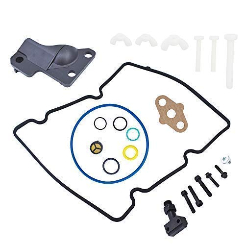 Price comparison product image labwork Fitting Update Kit High Pressure Oil Pump Kit Fit for Ford F250 F350 F450 F550 with 6.0L Diesel Engines 4C3Z-9B246-F