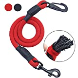 AMZNOVA Dog Seat Belt, Explosion-proof Rushed Dog Car Harness Restraint Pet Safety Latch Seatbelt Durable for Cat Puppy Small Large Dogs Travel Carring Red, XL