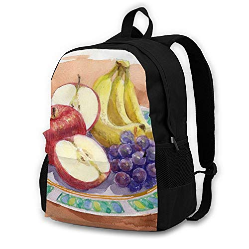 Adult Computer Backpack,Fruit Food Apple Business Anti Theft Slim Durable Laptops Backpack College School Computer Bag Gifts for Men & Women Fits 16.5 Inch Notebook.