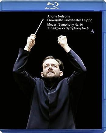 モーツァルト : 交響曲第40番 | チャイコフスキー : 交響曲第6番 / アンドリス・ネルソンス | ライプツィヒ・ゲヴァントハウス管弦楽団 (Mozart no.40, Tchaikovsky no.6 / Andris Nelsons, Gewandhausorchester Leipzig) [Blu-ray] [Import] [日本語帯・解説付]