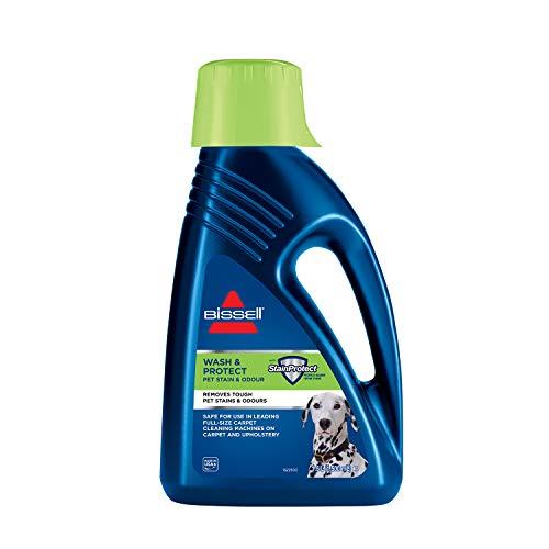 Bissell 1087N Wash & Protect Pet Reinigungsmittel für alle Teppichreiniger/Waschsauger, 1 x 1,5 Liter