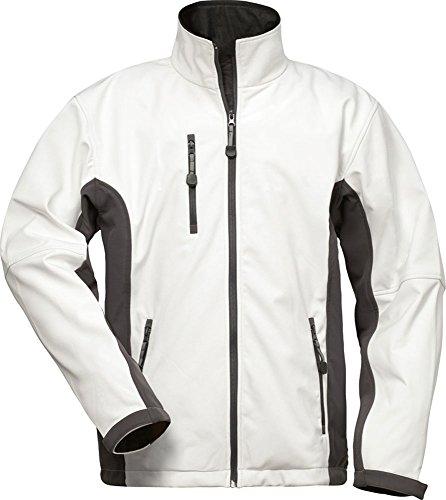 CRAFTLAND Softshell-Jacke - 19990 - weiß/grau - Größe: XXL