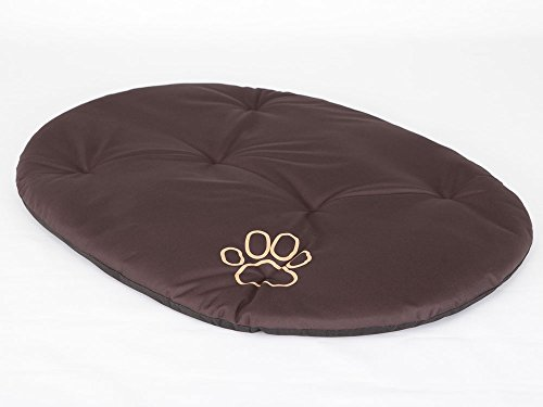 Hobbydog R5 PODCBR2 Dog Pillow R5 - Almohada (71 x 54 cm, 400 g), Color marrón Oscuro