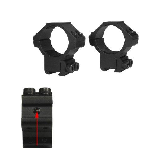 LENSOLUX Montage 2-Fach für Zielfernrohr 25,4 mm auf Prismenschiene