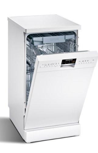 Siemens SR26T292EU Freistehender Geschirrspüler / A++ A / 10 Maßgedecke / 45 cm / weiß / unterbaufähig / duoPower / EcoPlus