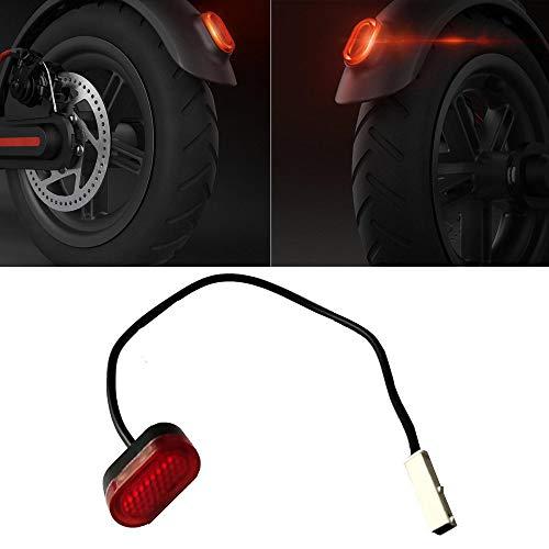 aibiku Rücklicht für Xiaomi Mijia M365 Elektro Scooter - Electric Scooter Zubehör Einzelteile