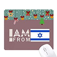 私はイスラエルから ゲーム用スライドゴムのマウスパッドクリスマス