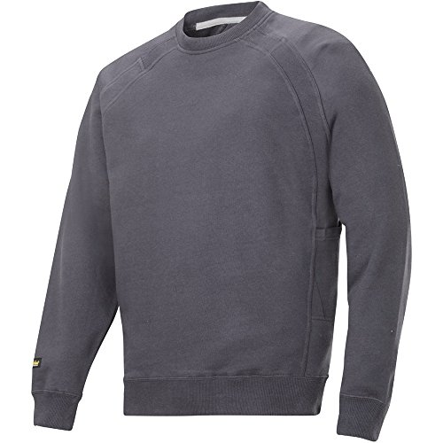 Snickers 28125800007 Sweat-shirt avec multipoches Taille XL Acier Gris