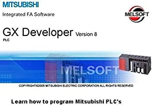 FLASH DRIVE ~ MITSUBISHI PLC TRAINING LESSONS LEARN TO PROGRAM (GX DEVELOPER)