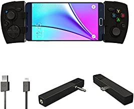 Phonejoy Bluetooth Game Controller for Android (Advanced Gamer Package) - Extendable Wireless Gamepad/Joystick for Android Devices