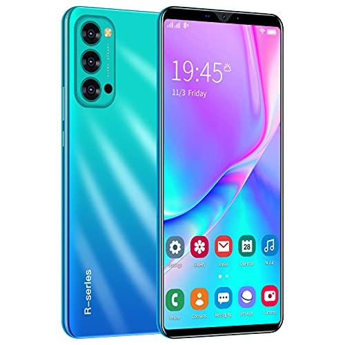 Teléfono Móvil Libre, ShaQx Rino4Pro Android 3G Smartphone Libre, 4GB ROM (32GB SD) Mobile Phone, 6.1' IPS Display Movil, 5MP + 2MP Dual Camera, Dual SIM, WiFi,Bluetooth,GPS (Rino4Pro-Azul)