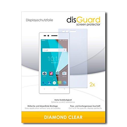 disGuard 2 x Bildschirmschutzfolie Siswoo A4+ Schutzfolie Folie DiamondClear unsichtbar