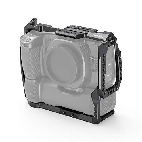 SMALLRIG Cage Käfig Kompatibel für BMPCC 4K & 6K mit angebautem Batteriegriff - 2765
