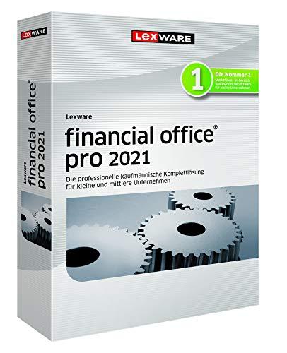 Lexware financial office 2021|pro-Version Minibox (Jahreslizenz)|Einfache kaufmännische Komplett-Lösung für Freiberufler|Kompatibel mit Windows 8.1 oder aktueller|Pro|3|1 Jahr|PC|Disc