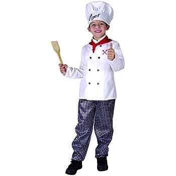 Disfraz Chef cocinero niño - 10 - 12 años: Amazon.es: Juguetes y ...