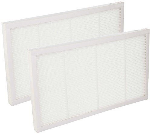 Nispira HEPA Filter Compatible with Filtrete 3M Ultra Air Cleaning FAPF02 FAPF024 for Purifiers FAP01-RMS and FAP02-RMS - 2 Packs