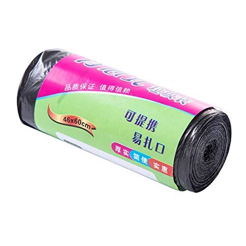 N/X Hey Caterpillar-Weste, große Müllbeutel, dicke Rolle, Einweg-Plastiktüte für den Hausgebrauch Schwarz