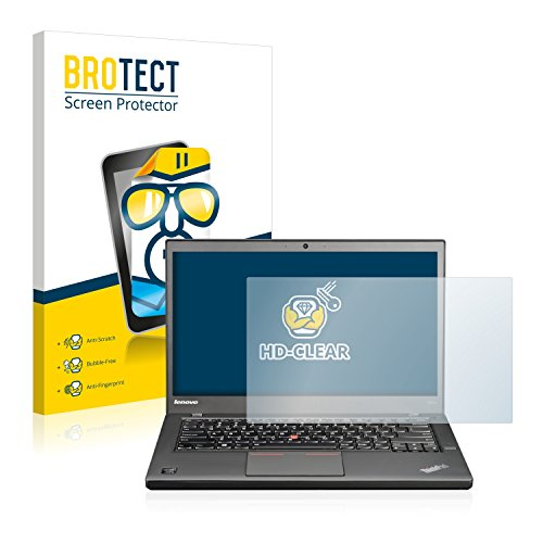BROTECT Schutzfolie kompatibel mit Lenovo ThinkPad T440s Non-Touch klare Bildschirmschutz-Folie
