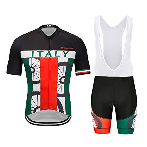 YSYFZ Camiseta deportiva para hombre de manga corta y pantalón corto transpirable y de secado rápido para primavera y verano.