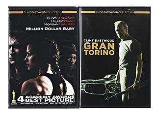 Clint Eastwood Gran Torino & Million Dollar Baby 2 Disc DVD Pack Movie Set