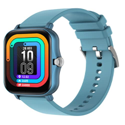 LOVOUO Reloj Inteligente Deportivo con Pantalla táctil a Color de 1,69 (rastreador de Ejercicios a Prueba de Agua IP67 con podómetro para monitorizar el Ritmo cardíaco del sueño)